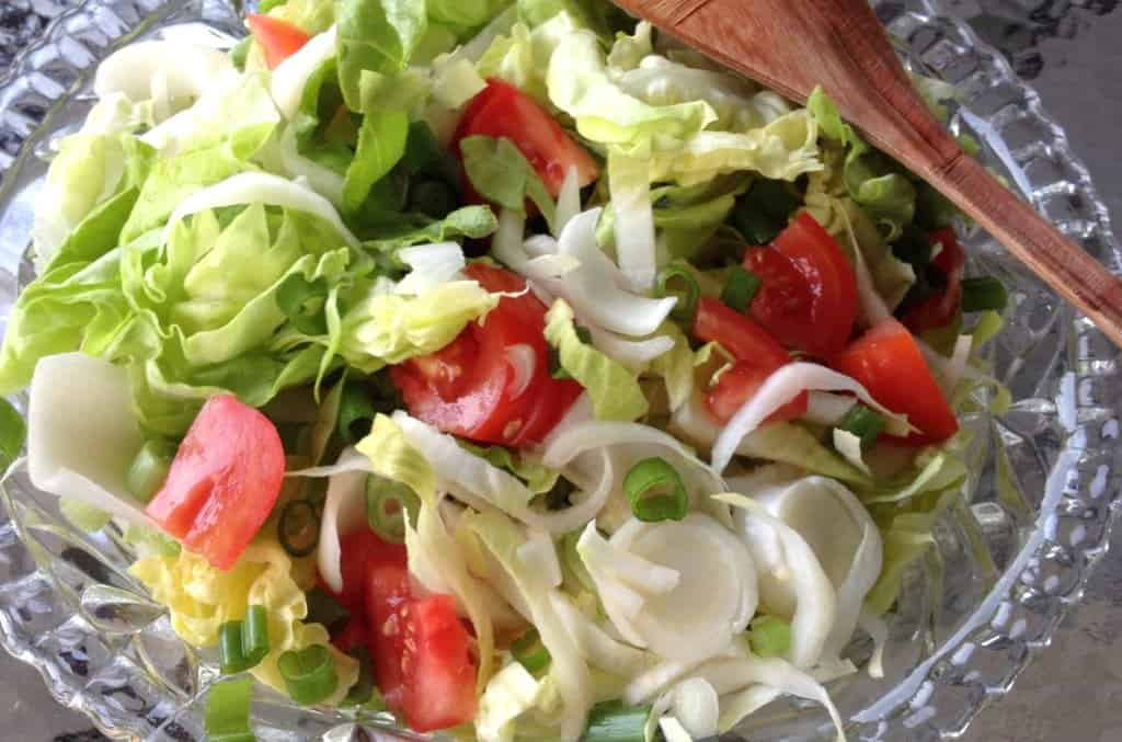 Pico De Gallo with Tuna-Traditional Mexican Recipe Butterhead Lettuce ...