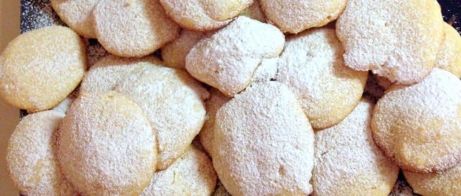 Super Easy Lemony  Cream Cheese Cookies