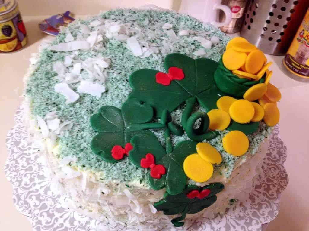 St. Patricks cake