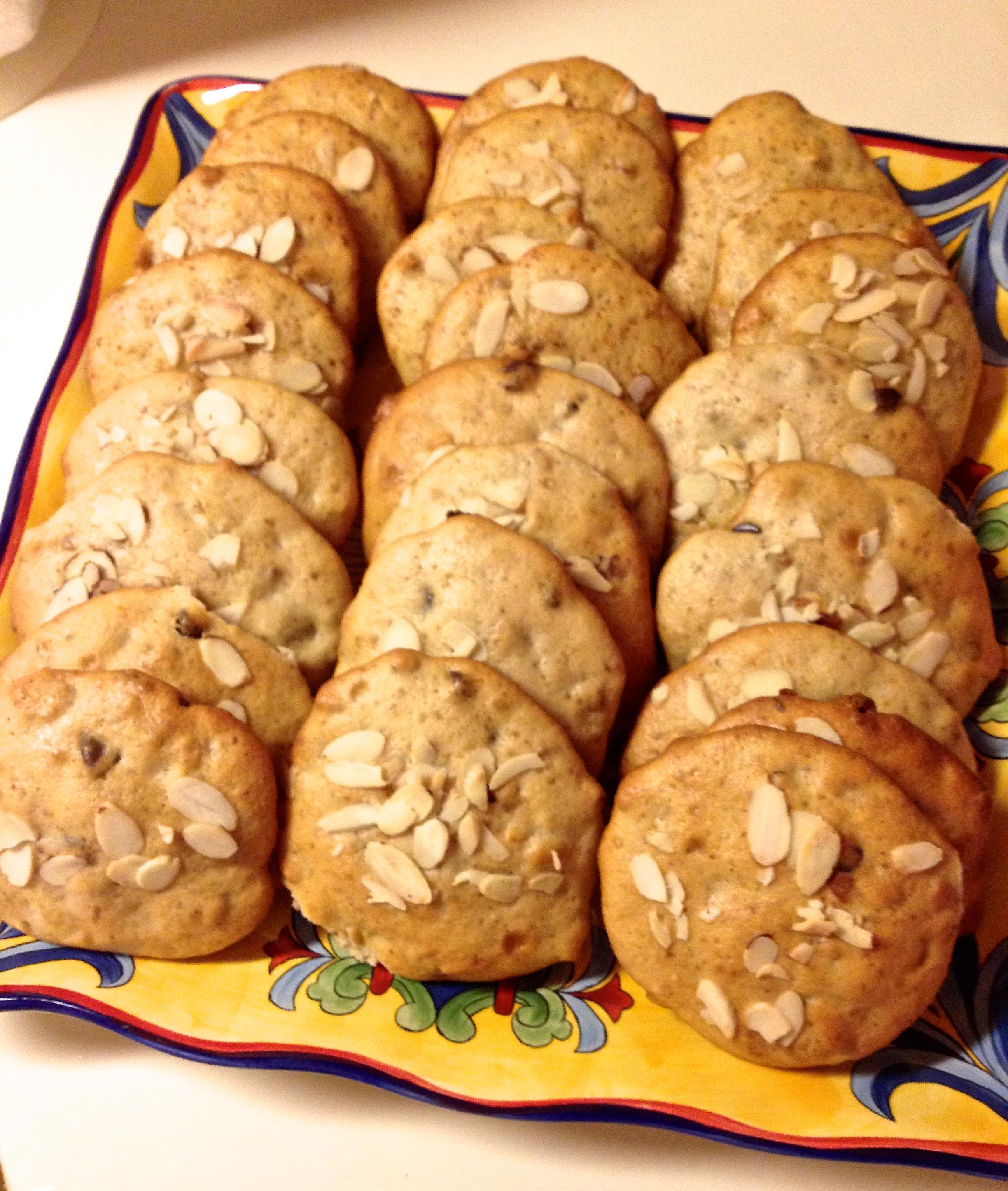 Banana Walnuts Chocolate Chip Soft Cookies