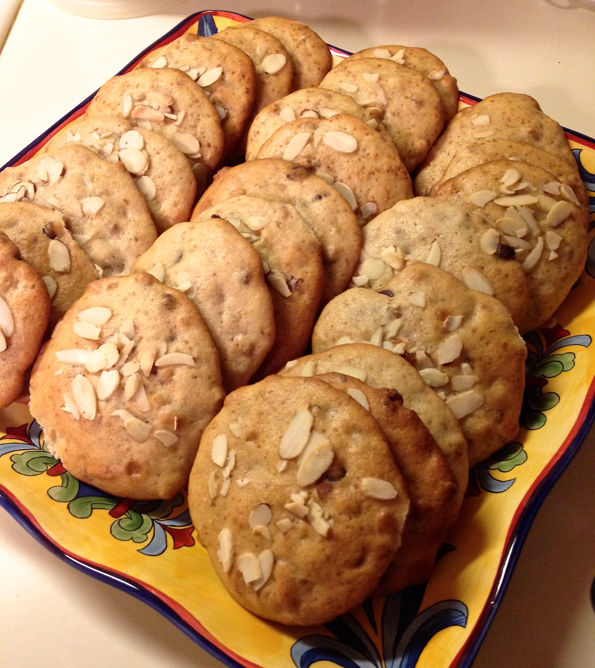 Banana- Walnut Chocolate Chip Cookies Recipe — Dishmaps