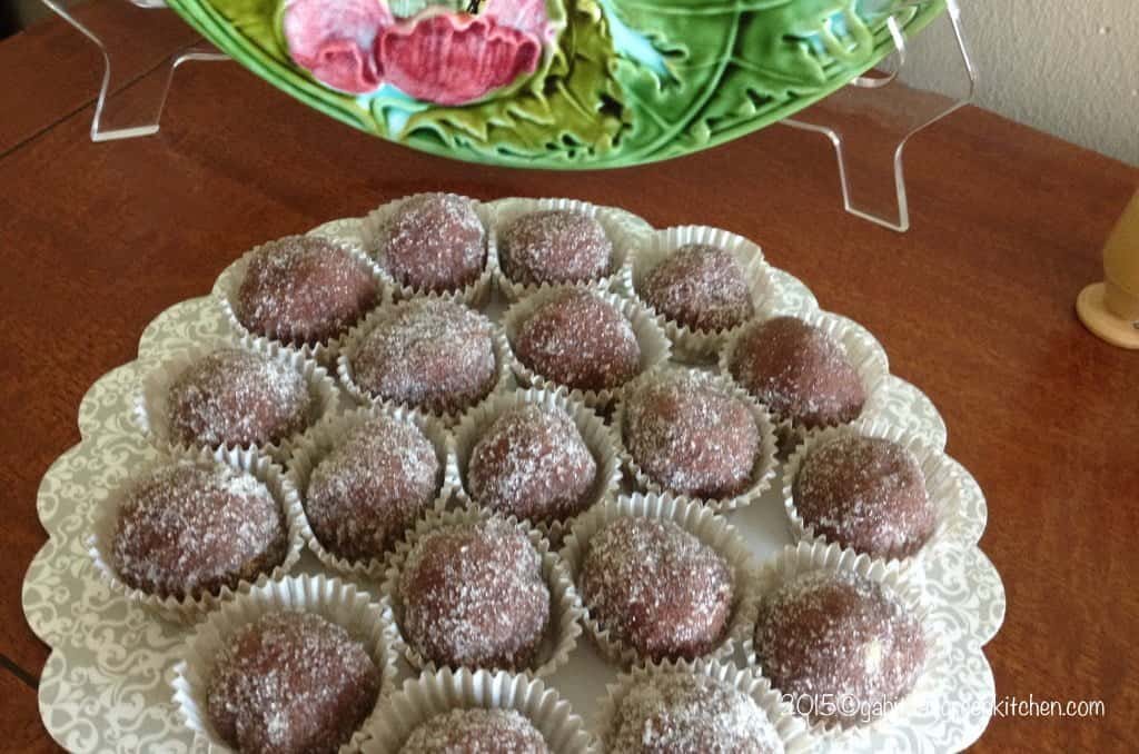 Romanian Rum Balls with Walnuts