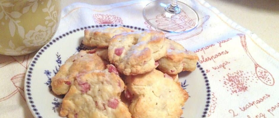 Ham and Cracked Black Pepper Scones