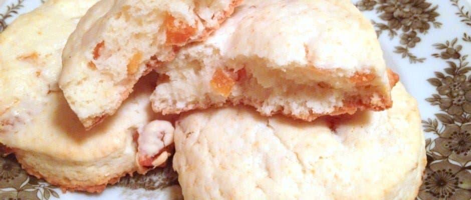 Apricot and Sour Cream Scones