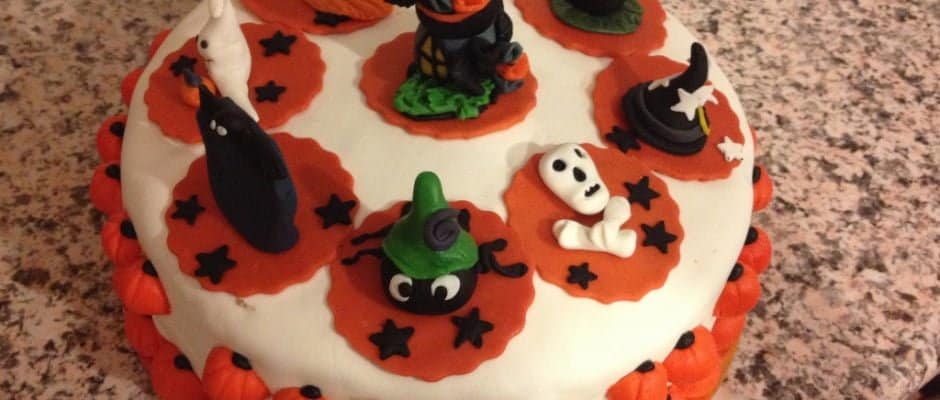 My First Halloween Cake