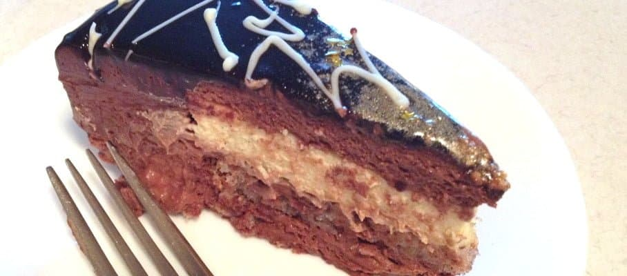 Chocolate Mousse and Praline Entremet