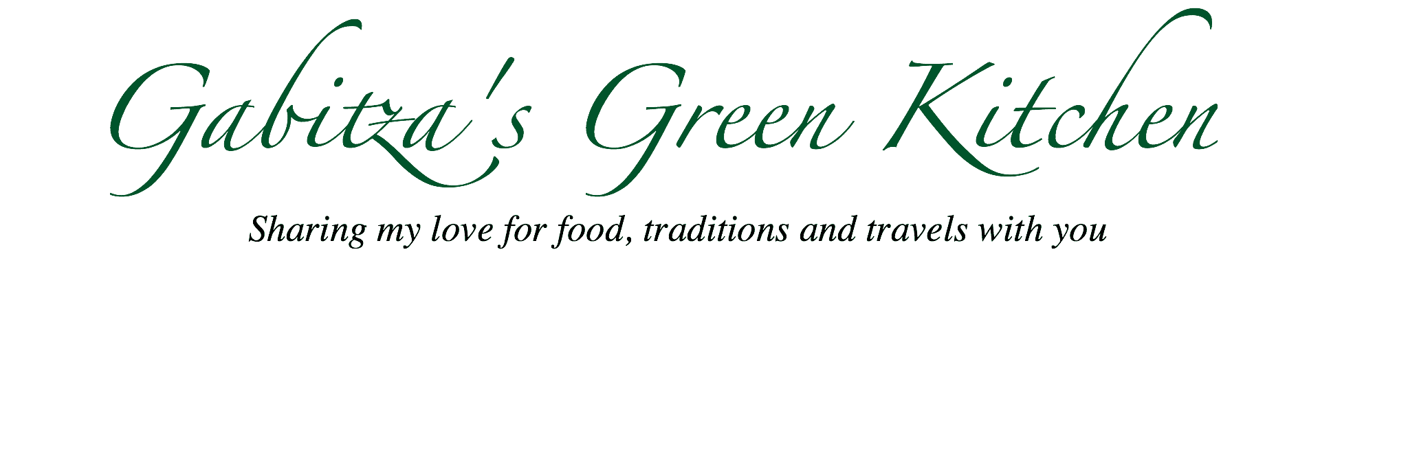 Gabitza's Green Kitchen