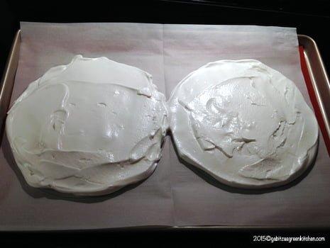 Tort de bezea cu ganache de ciocolata18