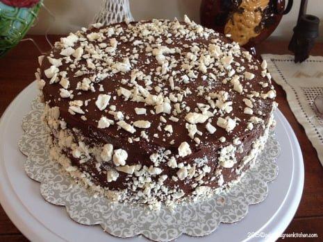 Tort de bezea cu ganache de ciocolata23