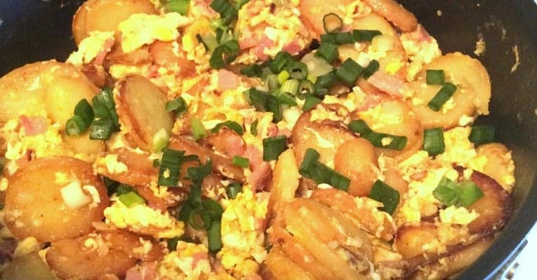 Eggs With Ham and Potatoes- A Spanish Inspiration
