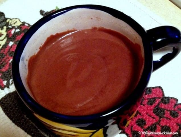 Hot Chocolate- Spanish Style