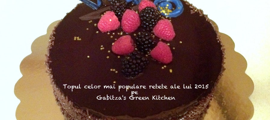 Topul Celor Mai Populare Retete Din 2015 pe Gabitza's Green Kitchen