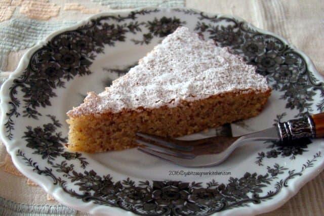 Almond Cake-Spanish Tarta de Santiago16