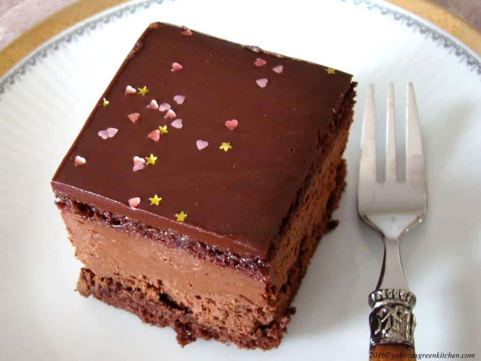 Hungarian Decadent Chocolate Cake2