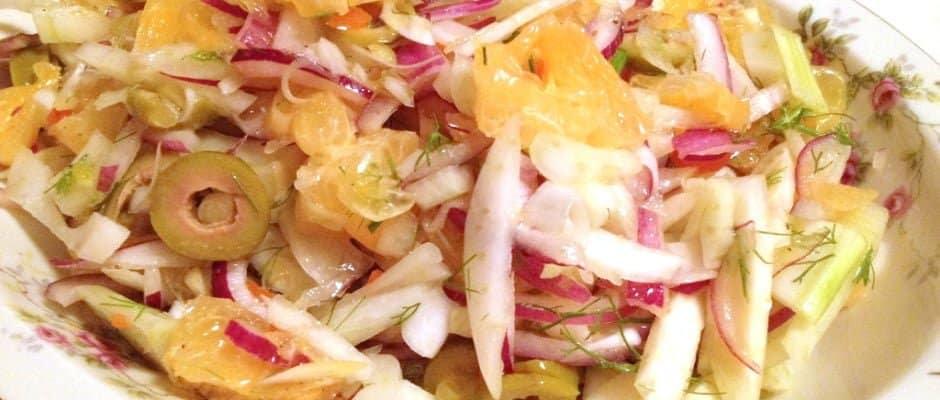 Salata de Portocale Cu Fenicul