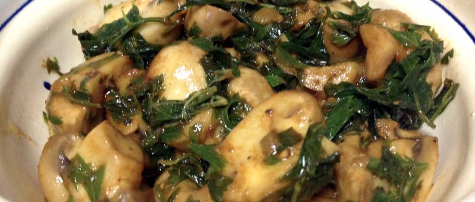 Ciuperci Cu Usturoi Si Lamaie