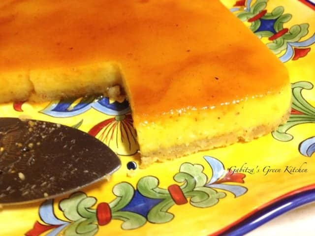 Orange and Almond Flan1