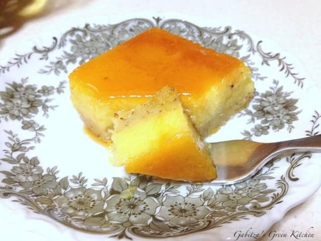 Orange and Almond Flan4