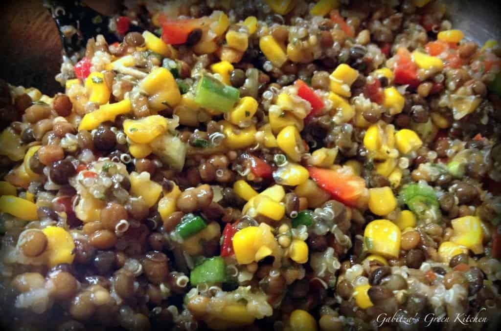 Salata de linte cu porumb si quinoa1