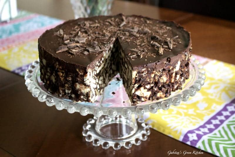 No Bake Chocolate Biscuit Cake8